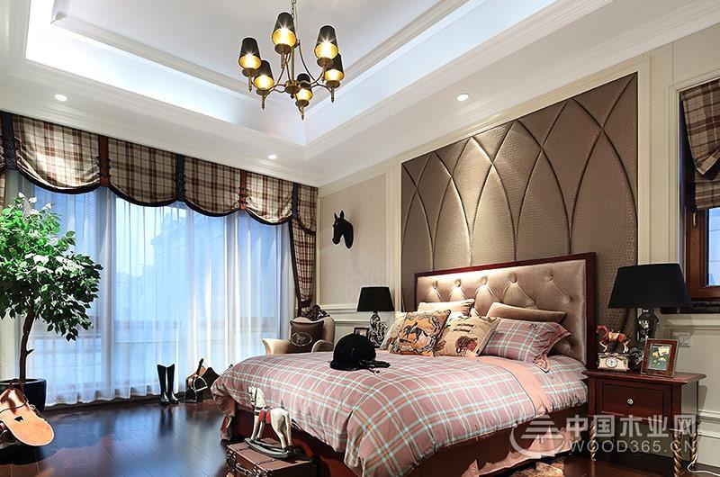 欧式古典风格装修大户型样板房展示