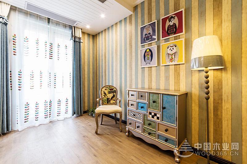 130平米地中海风格三室两厅装修效果图10
