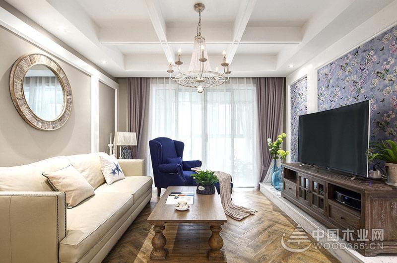 139平法式风格四房二厅装修效果图图片
