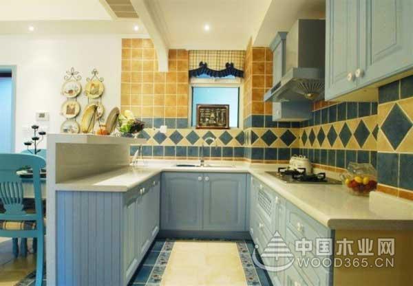 9款地中海风格小厨房装修效果图5
