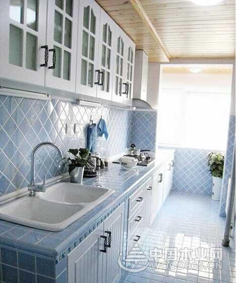 9款地中海风格小厨房装修效果图7