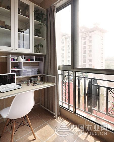 10款阳台书房装修效果图