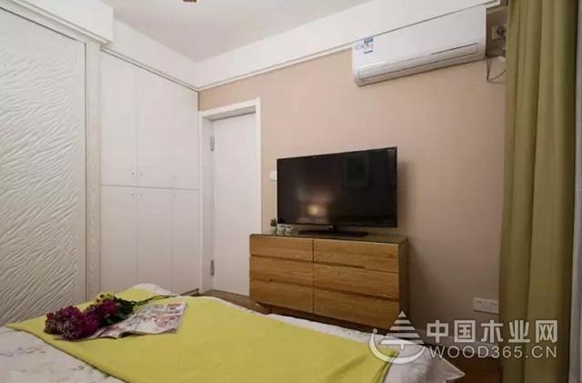 78平米简约风格两房一厅装修效果图