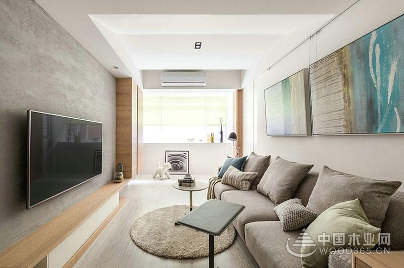 100平米现代北欧风格房屋装修效果图图片
