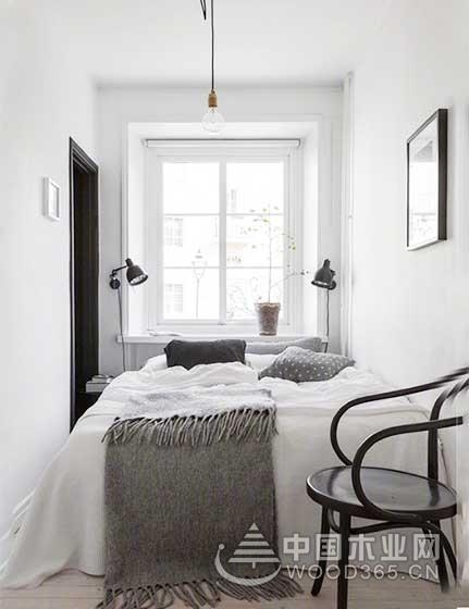 10款北欧风格卧室装修效果图-中国木业网