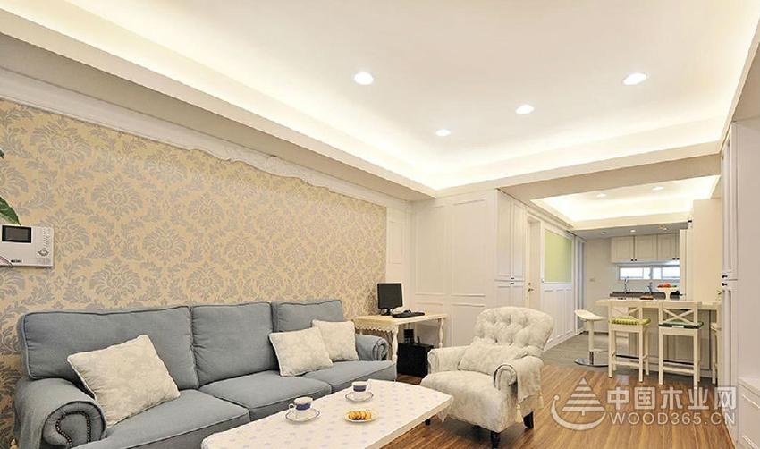 古典欧式风格,136平米三室两厅装修效果图