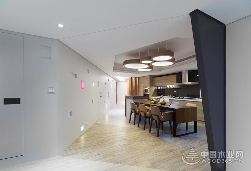 100平米三室两厅装修效果图