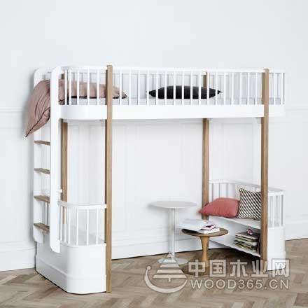 10款卧室高架床装修图