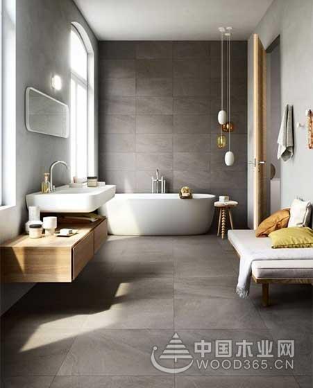10款北欧风卫生间瓷砖效果图