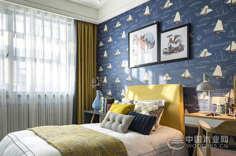 100平米北欧风格三室一厅装修效果图