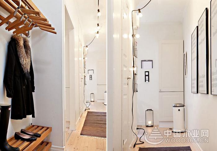 40平米一室一厅北欧风小户型装修效果图