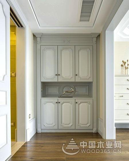 中式新古典风格复式楼房装修效果图