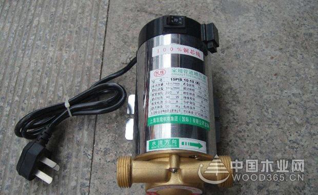 家用增压泵安装和选购方法