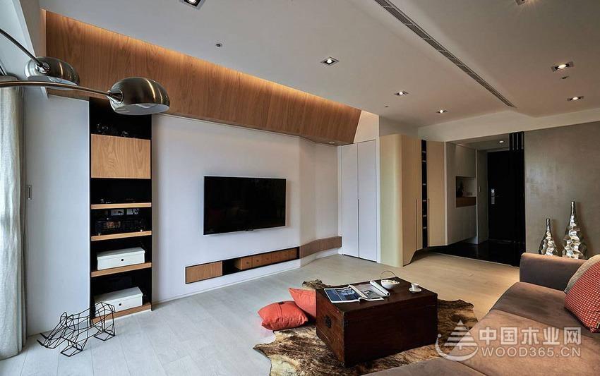 132平米四居改三室两厅两卫装修效果图