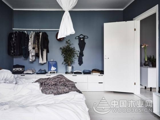 高彩度北欧风公寓,60平米小户型装修效果图