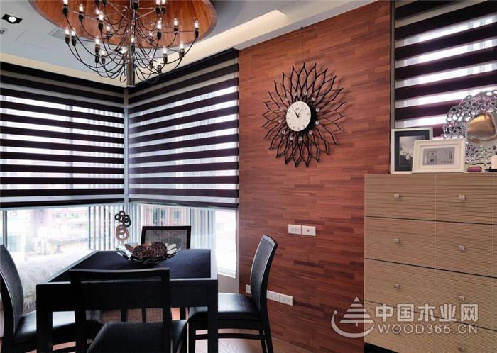 运用多元素材打造空间,165平米三室两厅两卫装修效果图