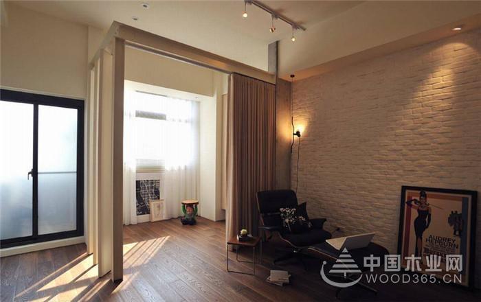 恣意享受悠静生活,66平米两房一厅装修效果图