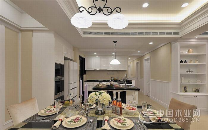 风格道地的欧式古典精酿 ,149平米三室两厅两卫装修效果图