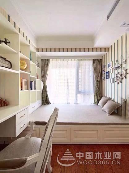 10款卧室小书房装修效果图,一室两用