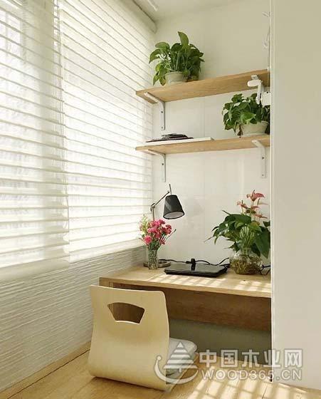 10款舒适阳台书房布置效果图