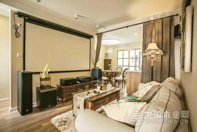 改造换新装,90平米美式乡村风格两居室装修效果图图片