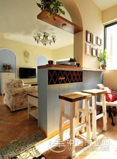 10款休闲家庭吧台装修效果图