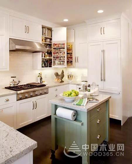 10款收纳型小厨房装修效果图