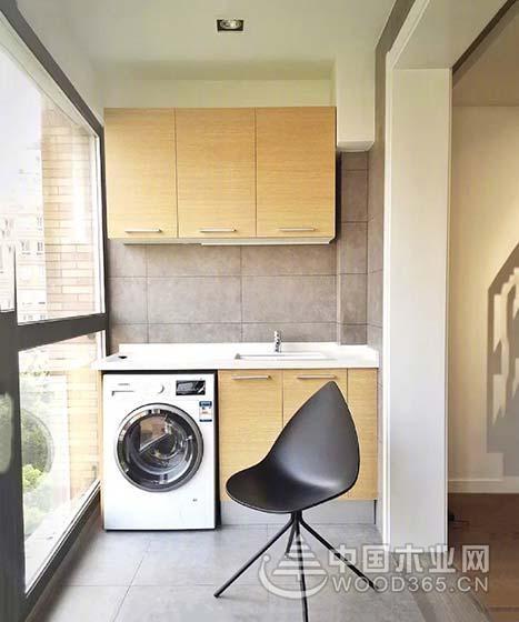 阳台空间利用,10两款阳台吊柜设计图片