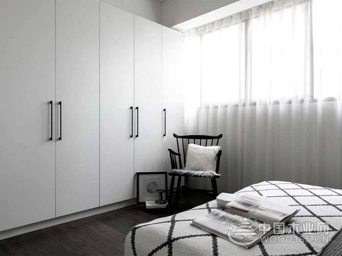 90平米北欧风格三室两厅装修效果图