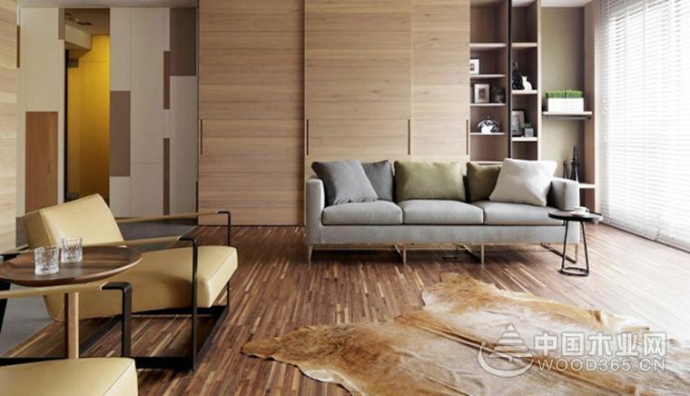 150平米简约风格两房一厅装修效果图