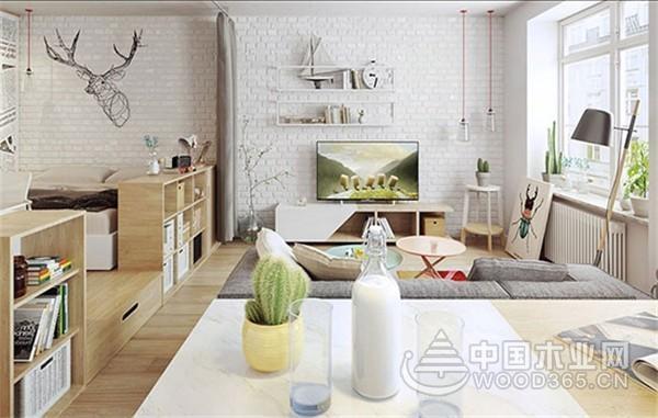 90后小夫妻小公寓完工,30平米小户型装修效果图