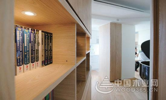 极简风原木之暖,98平米日式风格装修图片