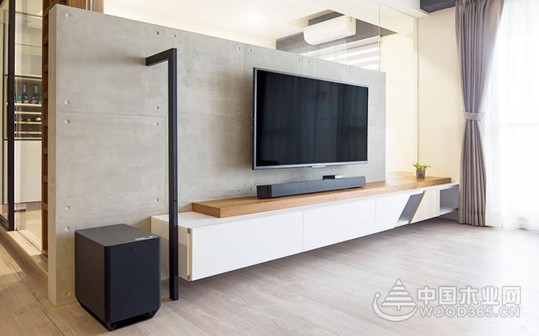 北欧风格清新简洁,70平米两室一厅装修效果图