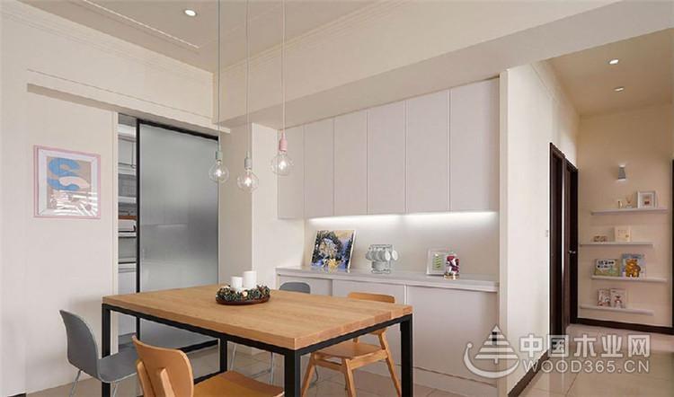 因钢琴结缘,96平米现代化三室两厅装修效果图