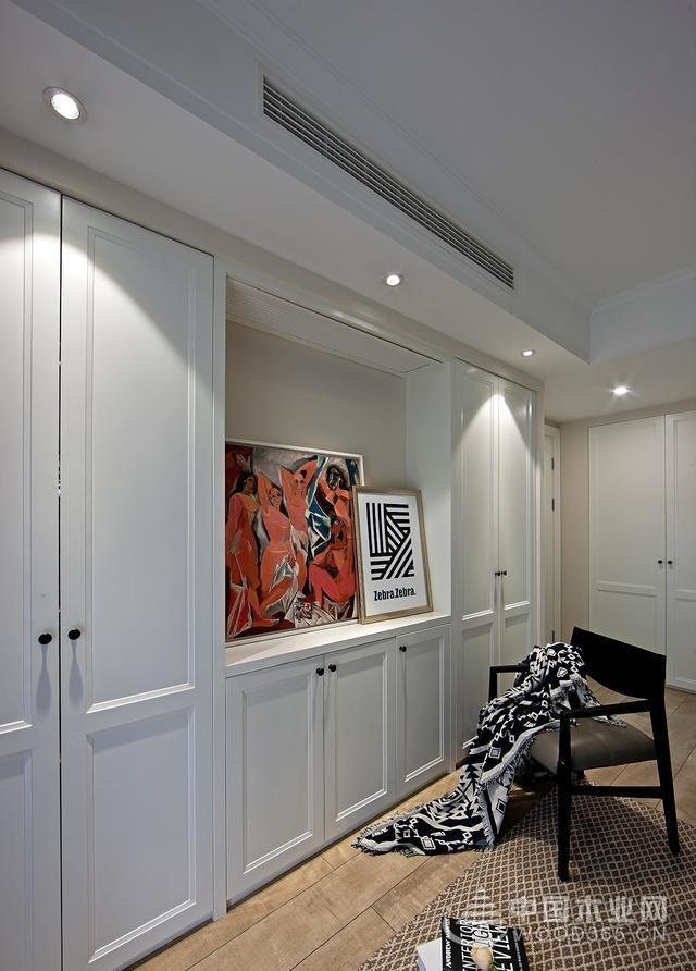 150平米混搭风格三室两厅装修效果图