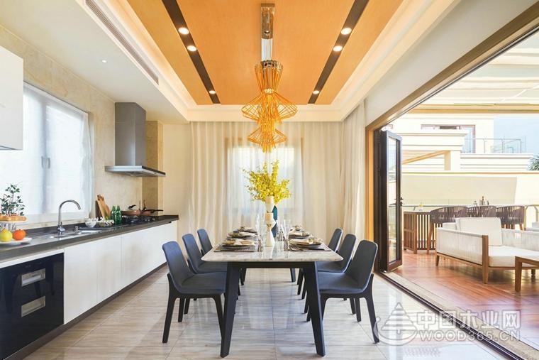 独特设计风格,300平地中海风格别墅样板间装修效果图