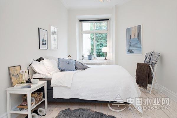 简单大方的设计色彩和家居布置,10款北欧风格卧室装修