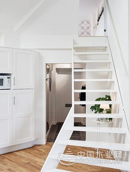 楼梯创意性,10款北欧复式楼梯装修效果图