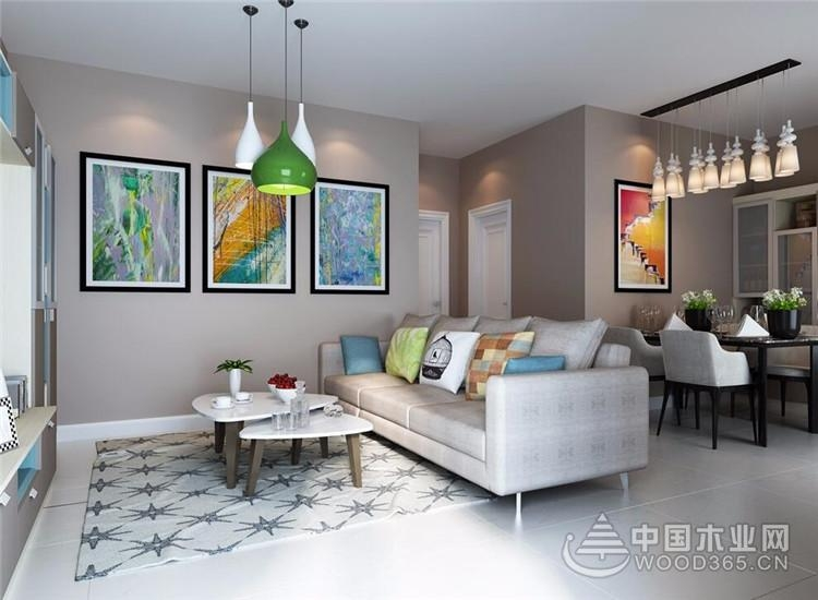 20款温馨舒适现代简约客厅装修效果图