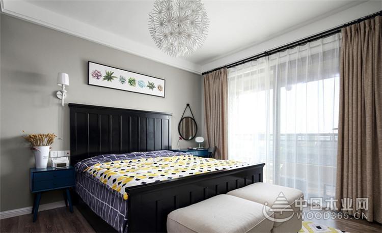 混搭风格三居室,117平米三室两厅装修效果图