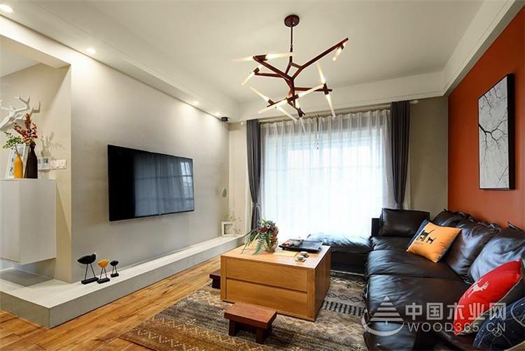 合理利用空间,124平米现代简约风格装修图片
