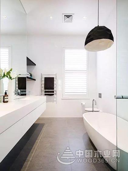 10款简约卫生间瓷砖效果图,让冰冷空间徒增一丝丝的温暖