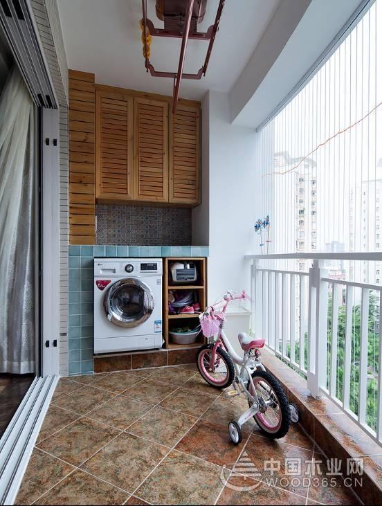 14款阳台吊柜装修效果图,实用性高