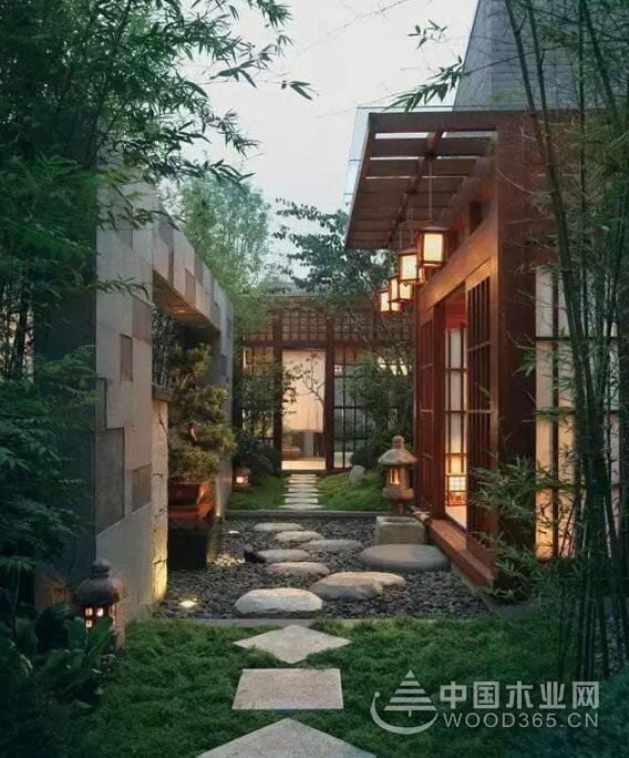 中式庭院设计效果图 ,也是一种境界与智慧