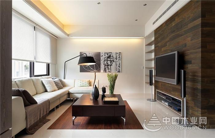 35张现代简约客厅装修效果图,自然大方