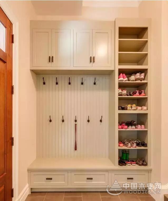 12款入户玄关鞋柜设计图,哪个你最喜欢