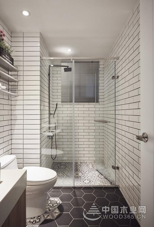 蹲式厕所装修效果图_16款卫生间瓷砖效果图,你是选择座便器还是选择蹲坑?-中国木业网