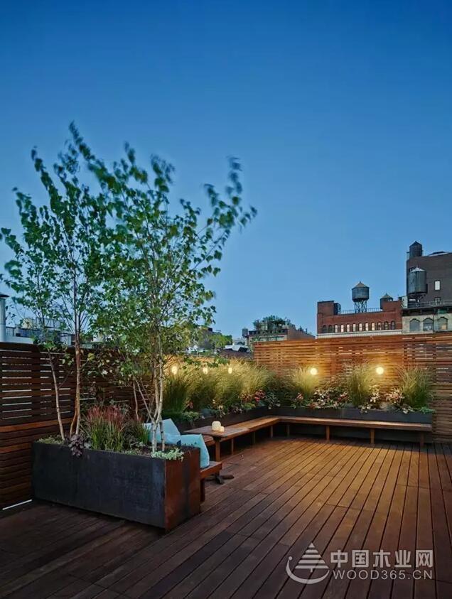 农村可以模仿的小院,17款入户花园装修效果图 中国木业网