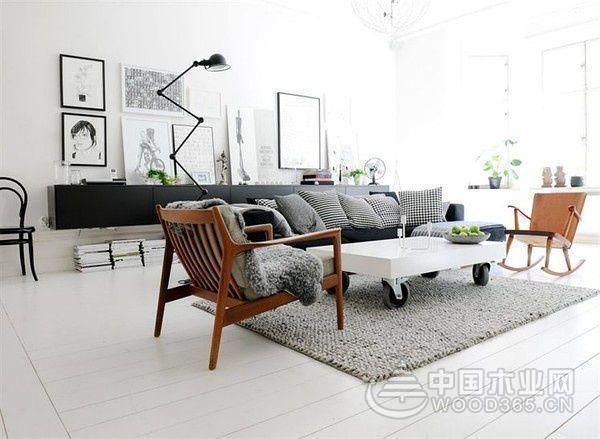 简约而不简单,120平米现代简约风格装修图片-中国木业