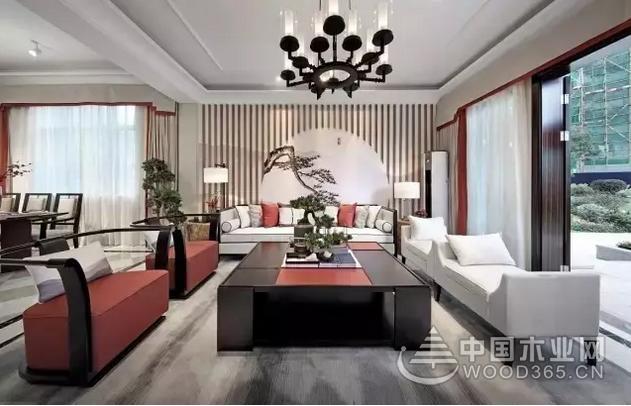 16款高档中式客厅装修效果图,相同的风格,不一样的精彩